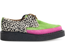 Creepers mit Animal-Print