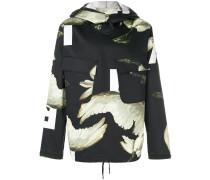 oversized printed hoodie