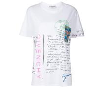 T-Shirt mit Postkarten-Print