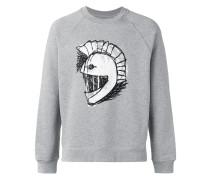 helmet embroidered sweatshirt - men - Baumwolle