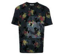 T-Shirt mit Blumen-Print - men - Polyester - 48