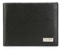 textured billfold wallet