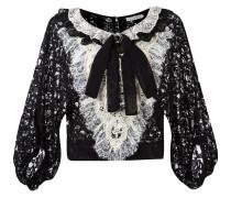 bib lace blouse