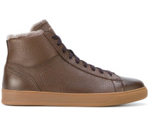 High-Top-Sneakers mit Lammfellfutter - Unavailable