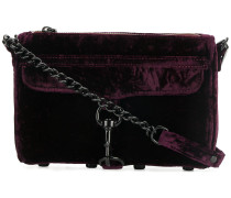 mini MAC velvet shoulder bag