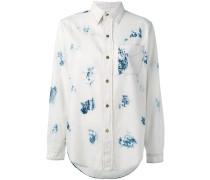 Jeanshemd mit blauen Flecken - women