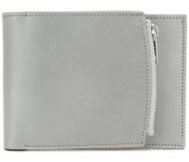 side zip billfold wallet
