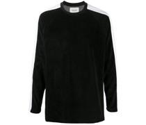 'Fuel' Sweatshirt mit Streifendetail
