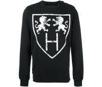 Sweatshirt mit Löwen-Print