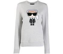 'Karl' besticktes Sweatshirt