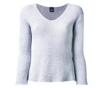 Sweatshirt mit V-Ausschnitt - women