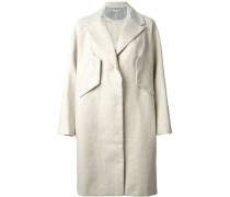 Mantel mit Oversized-Passform