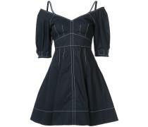 Kleid mit Kontrastnaht