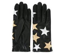 Lederhandschuhe mit Sternen