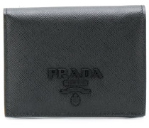 logo plaque small wallet