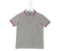 Poloshirt mit Logo-Patch - kids - Baumwolle - 4