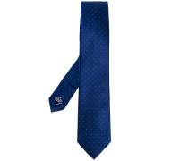 Krawatte mit kleinem Punktemuster - men