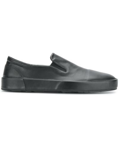 Jil Sander Herren Slip-On-Sneakers aus Leder Bestseller  Verkaufsschlager J6xPS