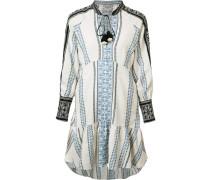 Tunika-Kleid mit langen Ärmeln