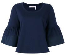 flared blouse - women - Baumwolle - XS