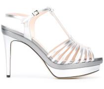 - Sandalen mit T-Riemen - women - Lammleder/Leder