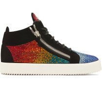 'Kriss' Sneakers mit Strass