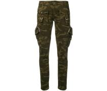 Röhrenhose im Military-Look