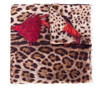 Schal mit Bengalkatzen-Print