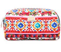 Mambo print makeup bag