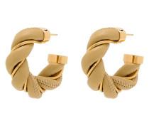 Vergoldete Ohrringe