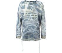 'Tye Dye' Sweatshirt mit Schnürungen