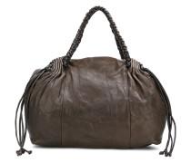 braid handle shoulder bag