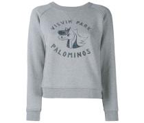 College Print Sweatshirt