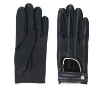 Handschuhe mit Kontrastnähten