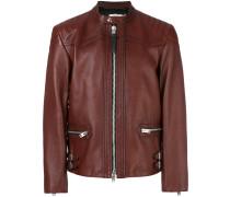 Burnished Leather Racer jacket