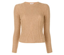 'Ronco' Pullover mit Zopfmuster