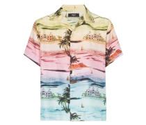Hawaii-Hemd aus Seide