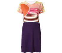 Kleid in Colour-Block-Optik