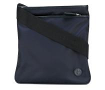 - logo messenger bag - men - Acryl/Polyamid