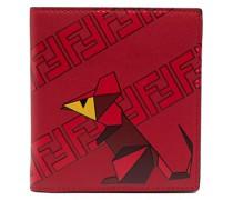 FF motif rat-print wallet