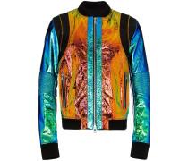 Jacke mit holografischem Effekt