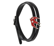 Swallow wrap bracelet