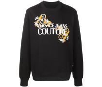 Sweatshirt mit Barock-Print