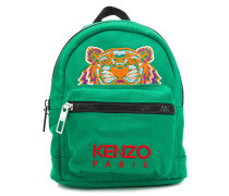 Tiger embroidered backpack