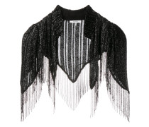 'Humphrey' bead embellished cape