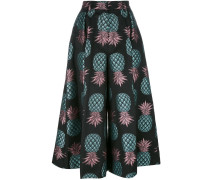 - Culottes mit Ananasmuster - women