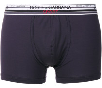 striped trim boxers