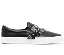 Slip-On-Sneakers mit Bandana