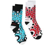 2er-Pack Socken mit Frosch-Motiv