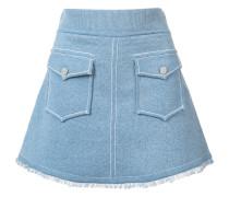 - Minirock mit ausgefranstem Saum - women